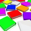 Colorful books — Stock Photo #10095345