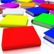 Colorful books — Stock Photo #10095349