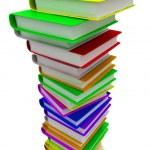 Colorful books — Stock Photo #10095391