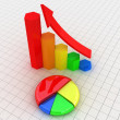 Business graphs - Stock Photo