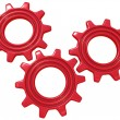 Red gears — Stock Photo #10096559