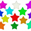 Royalty-Free Stock Photo: Colorfull stars