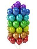 партия шары разноцветные. — Стоковое фото
