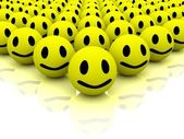 Many smiles — Stock Photo