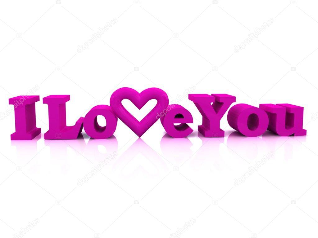 I Love You Imágenes De Stock I Love You Fotos De Stock: Stock Photo © Moneymaker11 #10097446