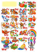 Alphabet for kids — Stock Photo