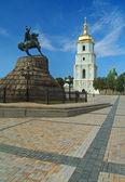 Saint Sophia Cathedral in Kiev, Ukraine — Stock Photo