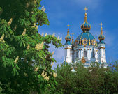Saint Andrew's Church in Kiev, Ukraine — Stock Photo