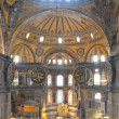 Nave of the Hagia Sophia - HDR version — Stock Photo