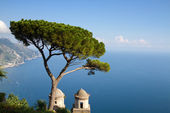 Côte Amalfitaine vu de ravello — Photo