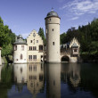 Water castle Mespelbrunn, Spessart — Stock Photo