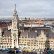 New Town Hall of Munich - Stock Photo