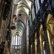 Nave of Cologne Cathedral — Stock Photo