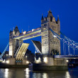 The Tower Bridge during the Blue Hour — Stock Photo #10242273