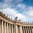 Colonnade at Saint Peter's Square, Rome — Stock Photo #10242878