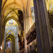Stock Photo: Interior of Cathedral of Seville
