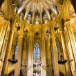 Chorus of BarcelonCathedral — Stock Photo #10249115