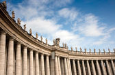 Colonnade at Saint Peter's Square, Rome — Stock Photo