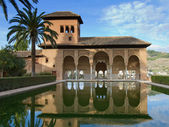 Torre de las Damas of the Alhambra — Stock Photo