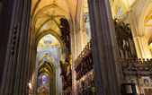 Interior of the Cathedral of Seville — Stock Photo