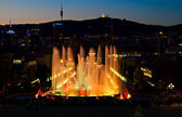Montjuic Magic fountain, Barcelona — Stok fotoğraf