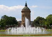 Landmark Water Tower, Mannheim — Stock Photo