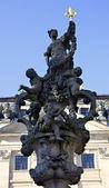 Barockens skulptur Floravase — Stockfoto
