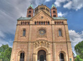 Roman Cathedral Mariendom, Speyer — Stock Photo
