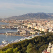 Panorama of Malaga — Stock Photo