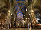 Nave of Santa Maria sopra Minerva — Stock Photo