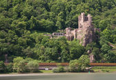 Burg Rheinstein at the Rhine valley — Stock Photo