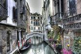 Urban scene in Venice — Stock Photo