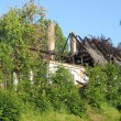 House fire damage — Stockfoto