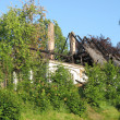 Stockfoto: House fire damage