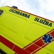 Ambulance car, details — Stock Photo