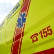 Ambulance car, details - Stock Photo