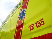 Ambulance car, details — Stock Photo