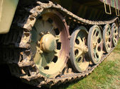 Detail of tank — Stock Photo