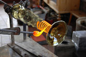 Glass manufacture — Stock Photo