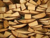堆柴火 — 图库照片