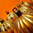 Orange Christmas still life — Stock Photo