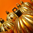 Orange Christmas still life — Stock Photo #10132360
