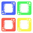 Colored frames — Stock Photo #10202574