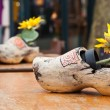 Traditional wooden shoes - Stock Photo