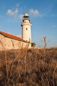 Old lighthouse of Paphos — Stock Photo