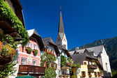 Hallstatt town. Austria — Stock Photo