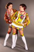 Ukrainian girl fashion — Stock Photo