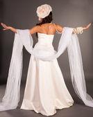 Ukrainian girl fashion, the bride — Stock Photo