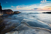 Scenic view of swedish coast — Stock Photo
