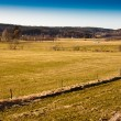 Stock Photo: Farmland in Sweden